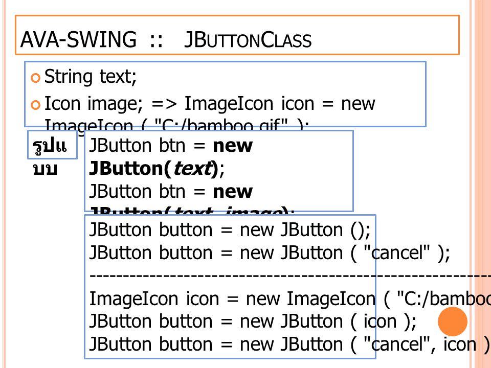 AVA-SWING :: JButtonClass