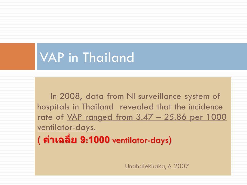 VAP in Thailand