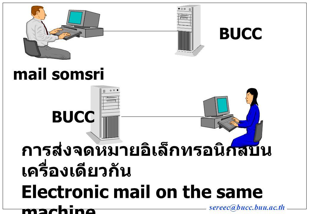 BUCC mail somsri. BUCC.