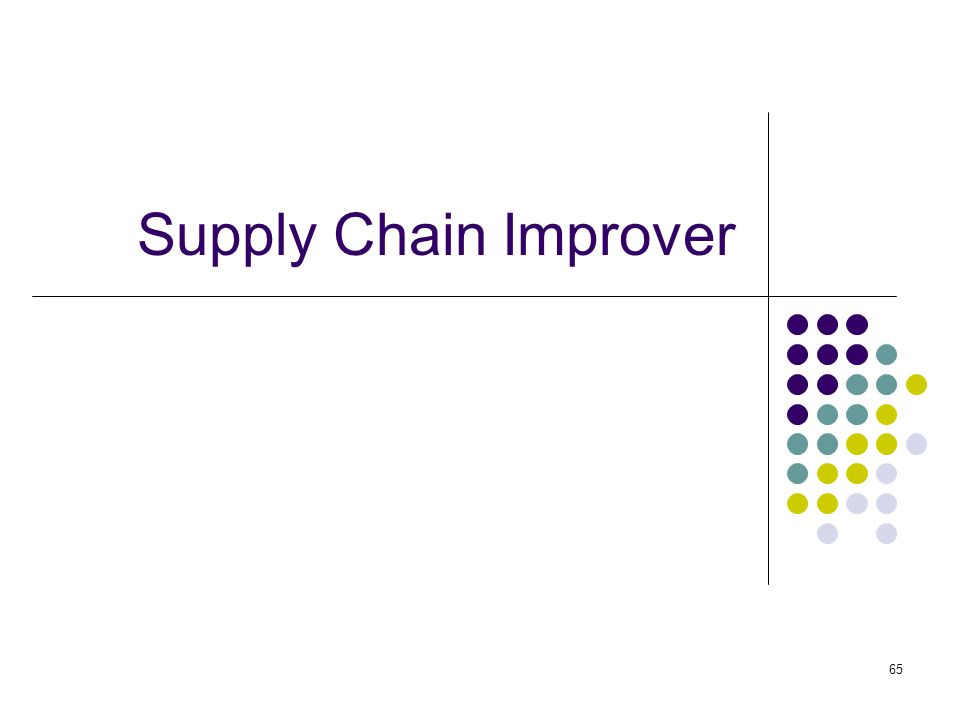 Supply Chain Improver