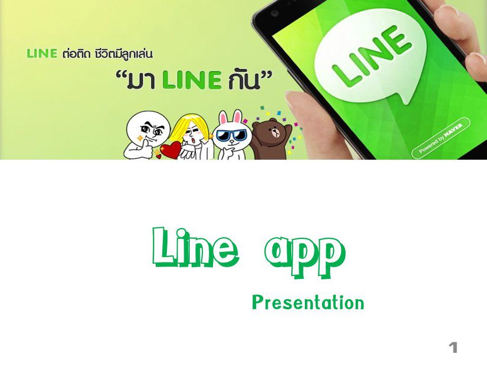 Line app Presentation