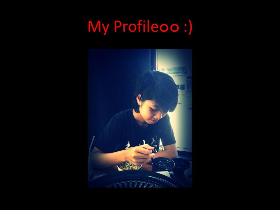 My Profile๐๐ :)