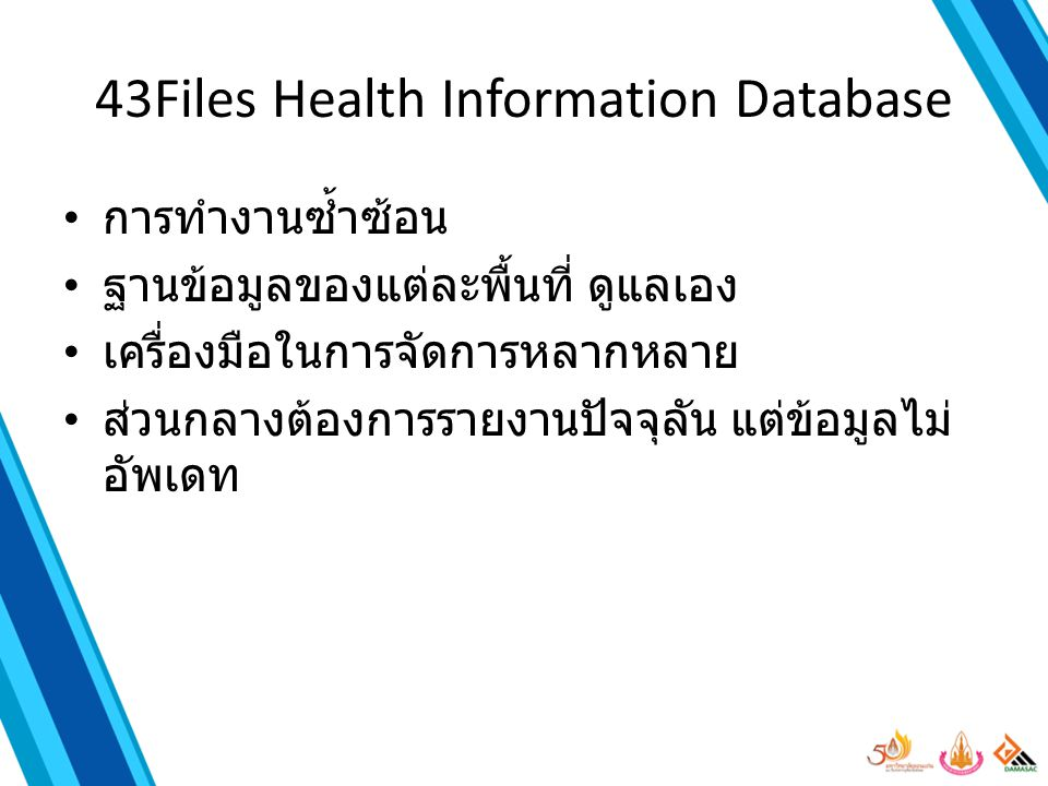 43Files Health Information Database