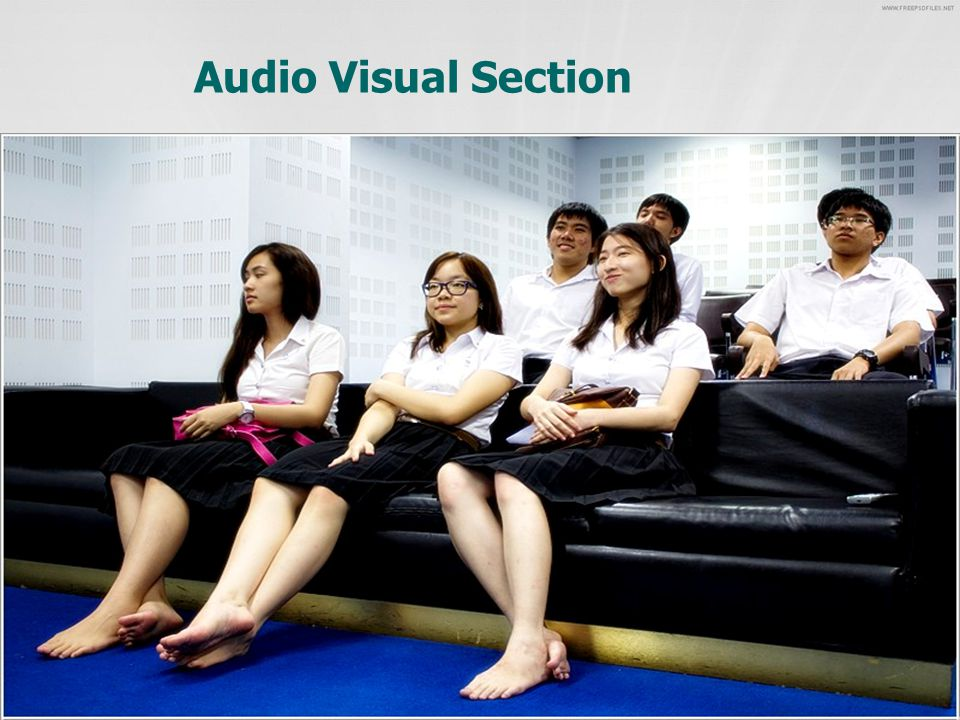 Audio Visual Section