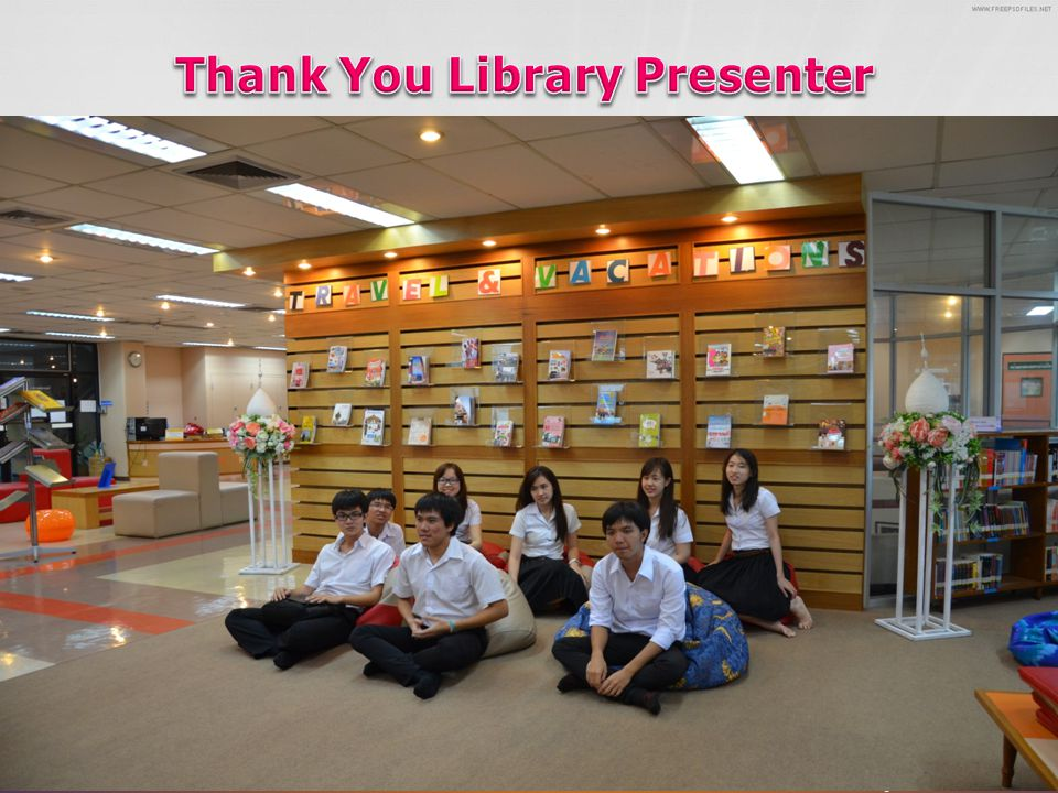 Thank You Library Presenter