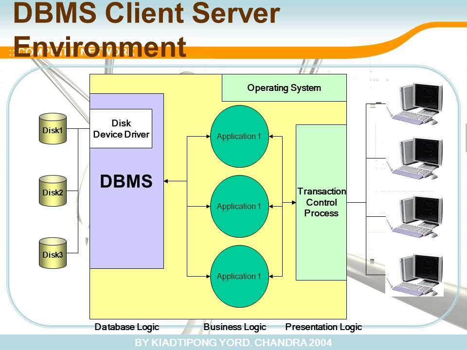 DBMS Client Server Environment