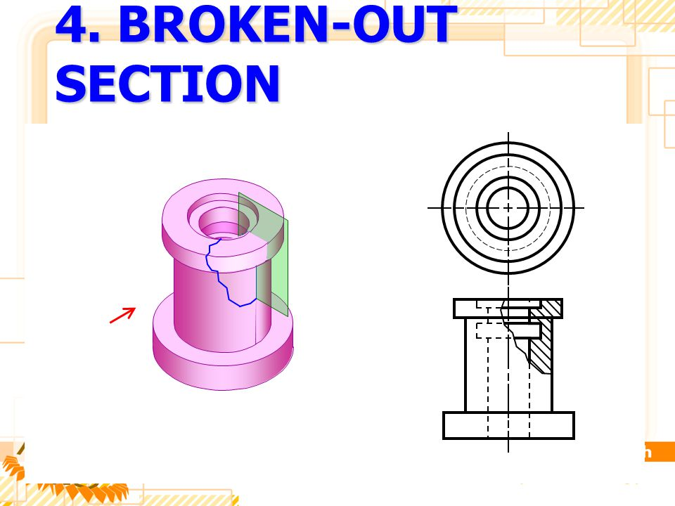 4. BROKEN-OUT SECTION