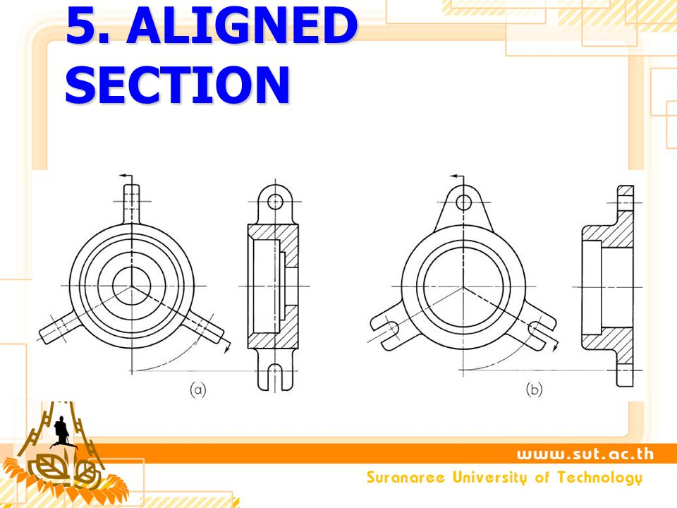 5. ALIGNED SECTION
