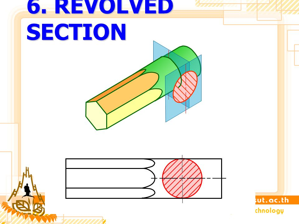 6. REVOLVED SECTION