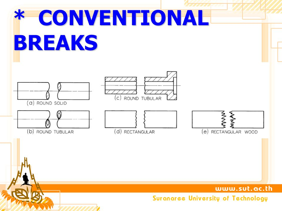 * CONVENTIONAL BREAKS