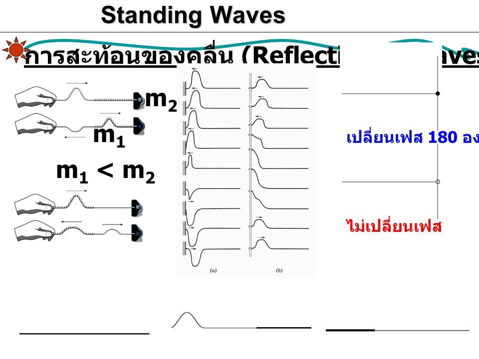 การสะท้อนของคลื่น (Reflection of waves)