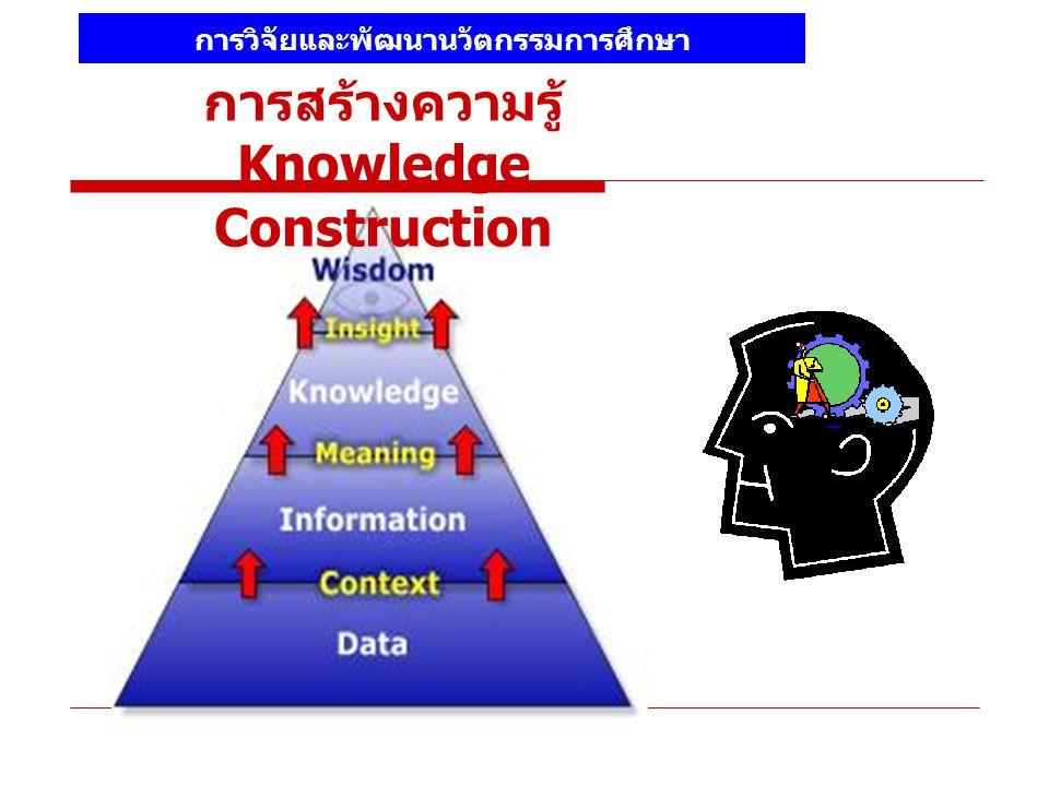 การสร้างความรู้ Knowledge Construction