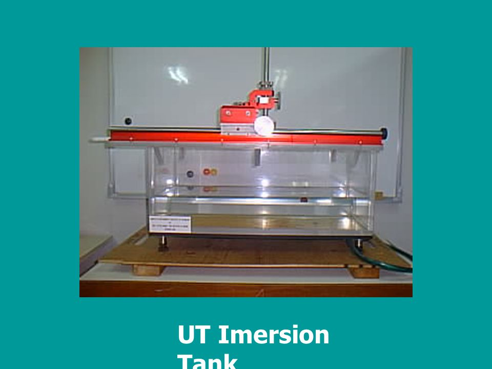 UT Imersion Tank