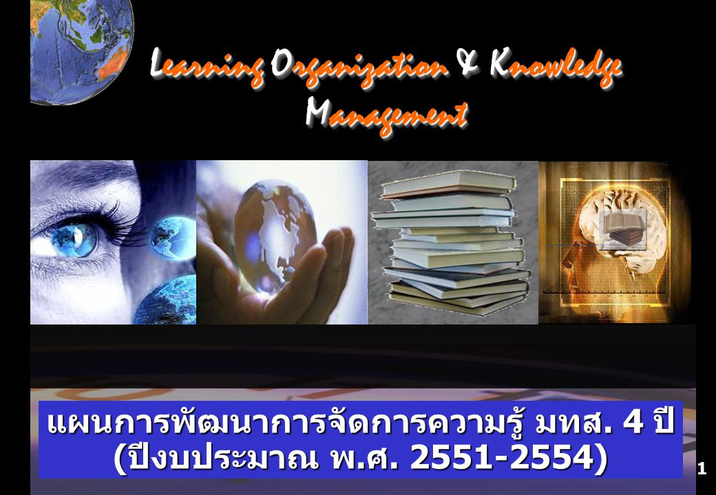 Learning Organization & Knowledge Management