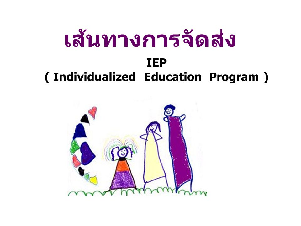 IEP ( Individualized Education Program )