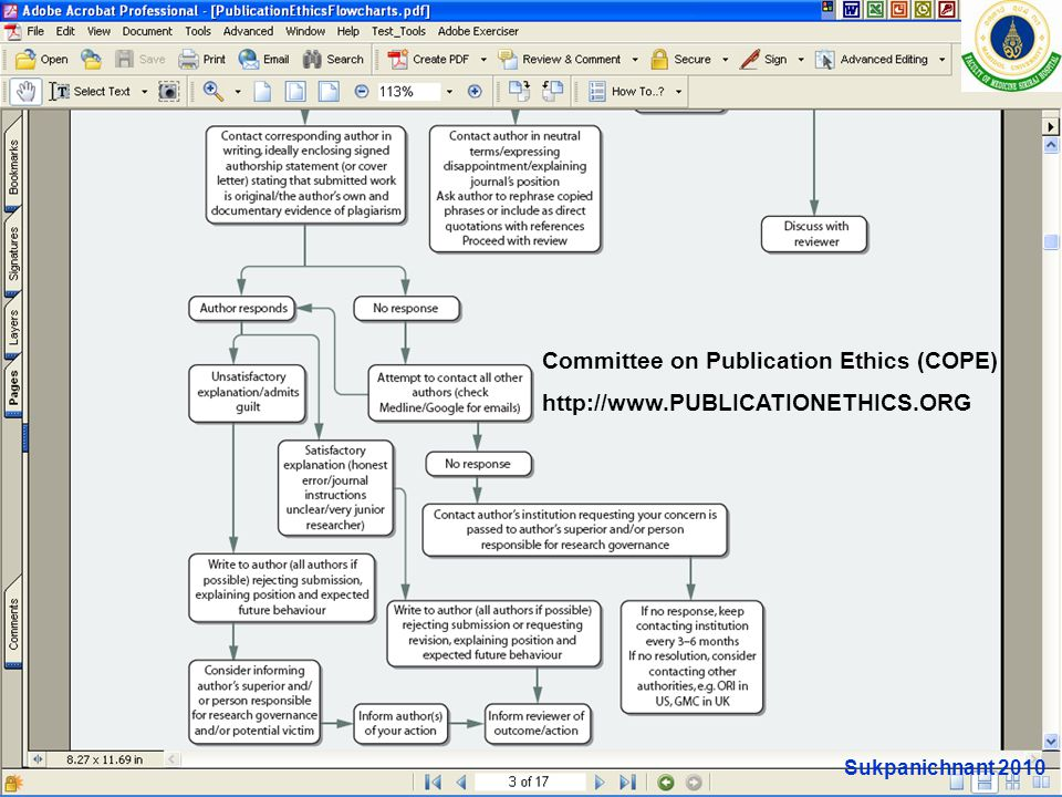 Committee on Publication Ethics (COPE)