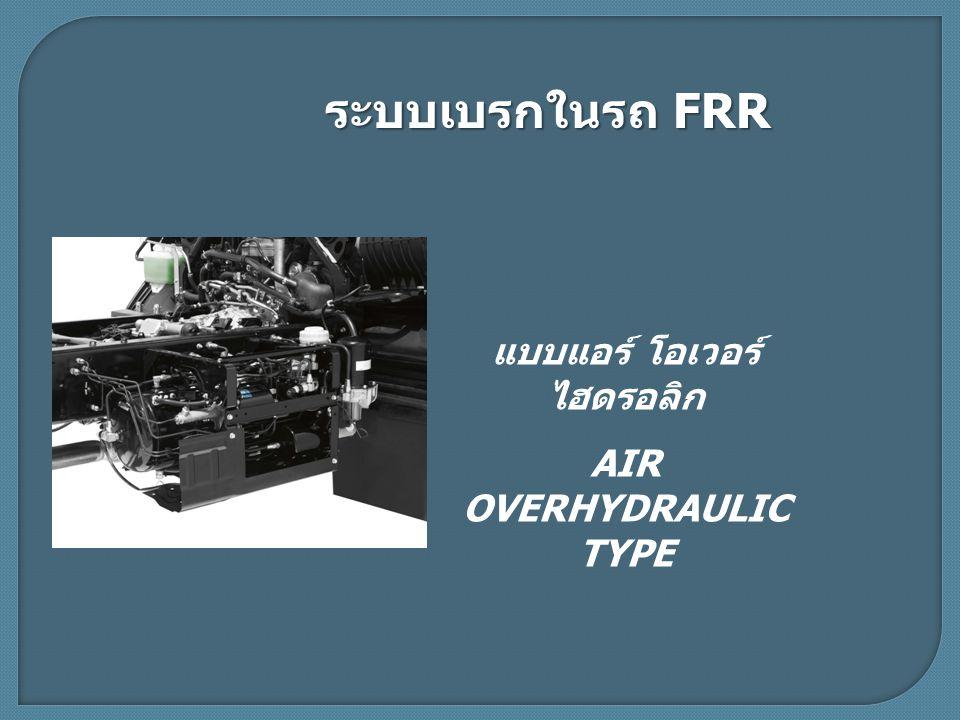 แบบแอร์ โอเวอร์ ไฮดรอลิก AIR OVERHYDRAULIC TYPE