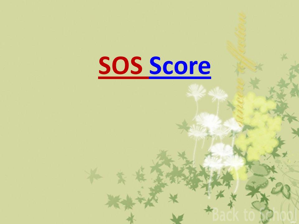 SOS Score