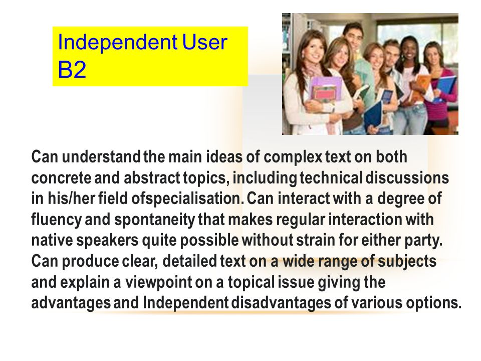 Independent User B2.