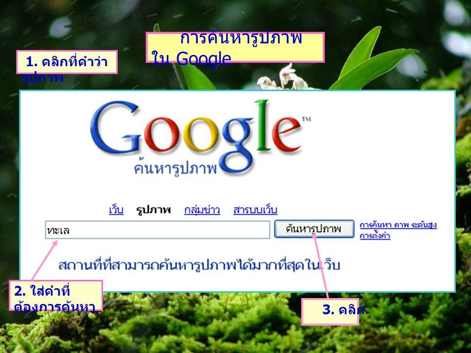 การค้นหารูปภาพใน Google
