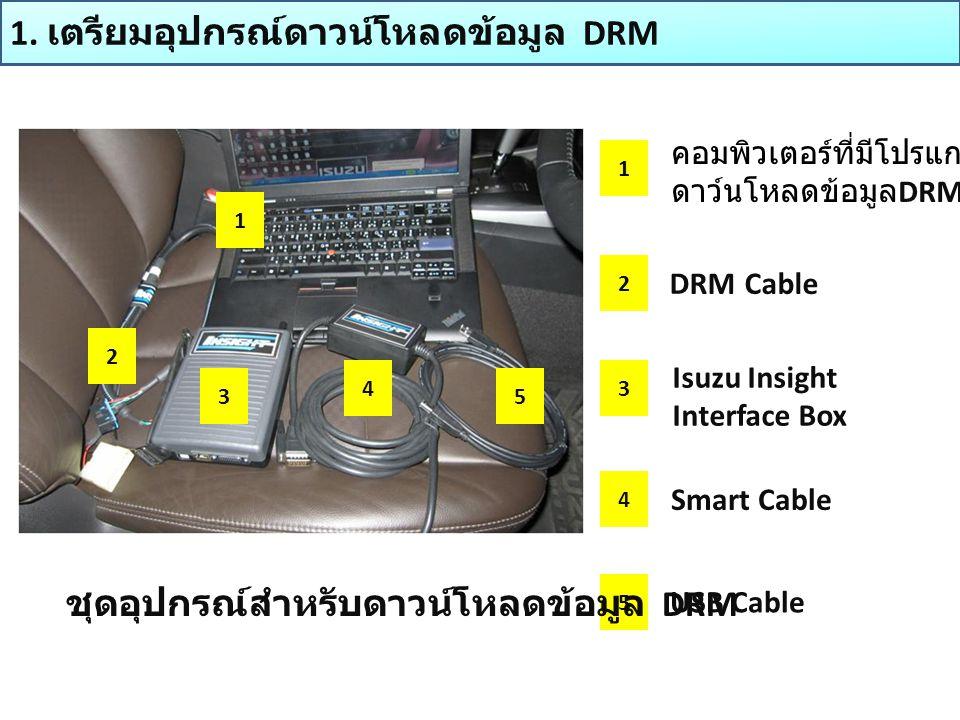 1. เตรียมอุปกรณ์ดาวน์โหลดข้อมูล DRM