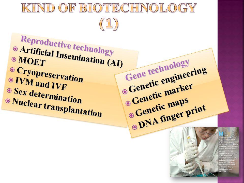 Kind of biotechnology (1)