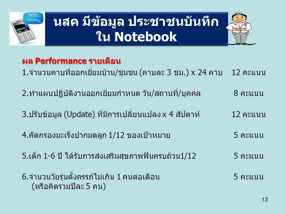 นสค มีข้อมูล ประชาชนบันทึกใน Notebook