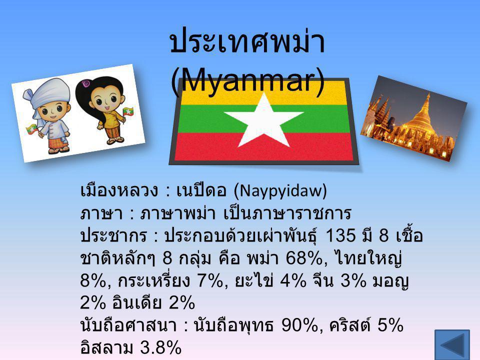 ประเทศพม่า (Myanmar)