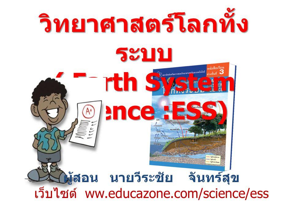 วิทยาศาสตร์โลกทั้งระบบ ( Earth System Science :ESS)