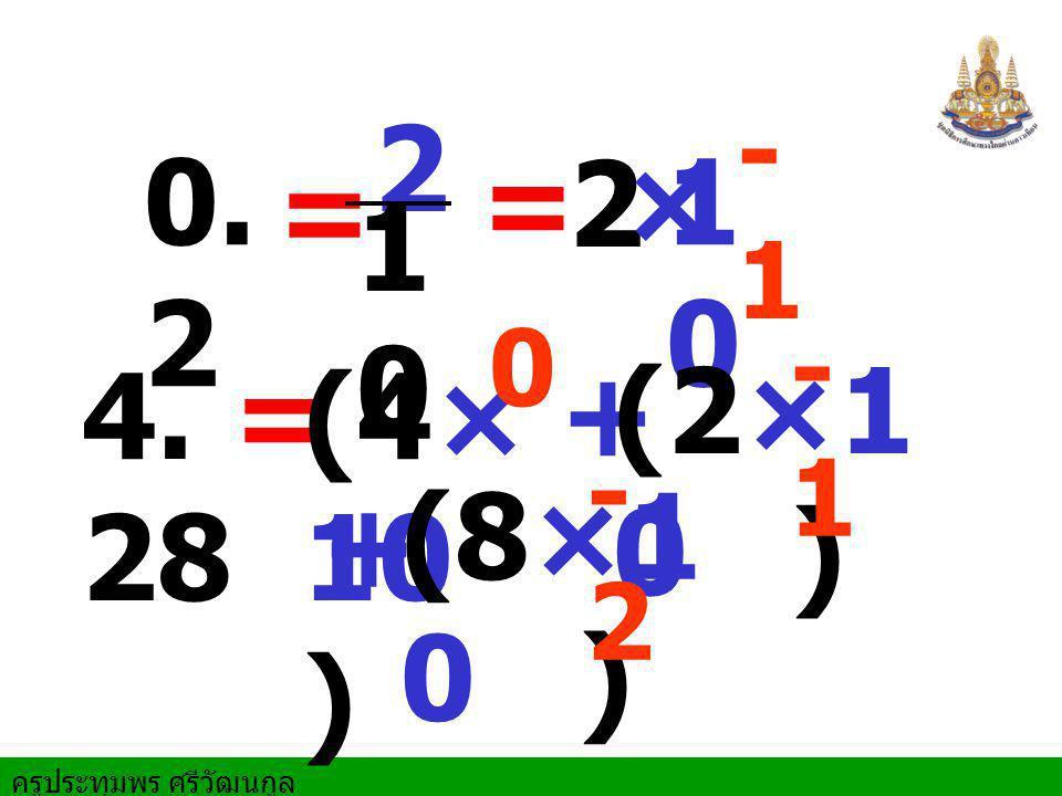 -1 2 0.2 = 2 × 10 = 10 -1 4.28 = (4×10 ) + (2×10 ) -2 (8×10 ) +