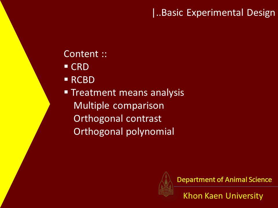 |..Basic Experimental Design