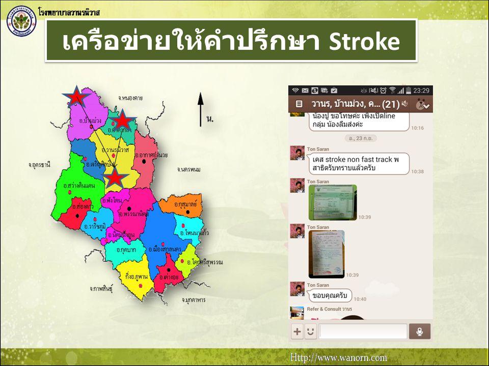 เครือข่ายให้คำปรึกษา Stroke