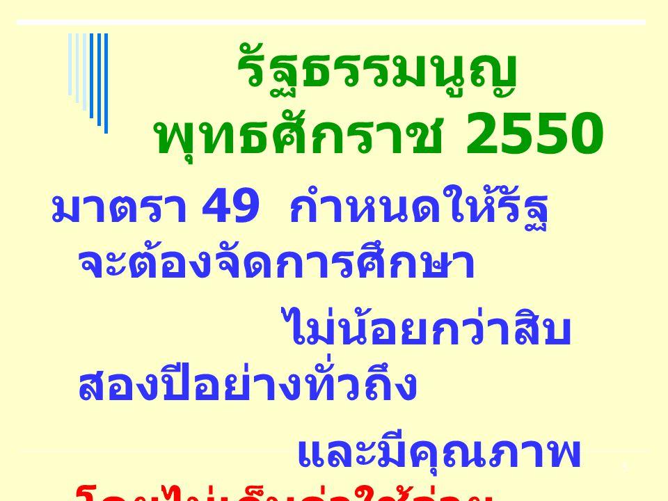 รัฐธรรมนูญ พุทธศักราช 2550