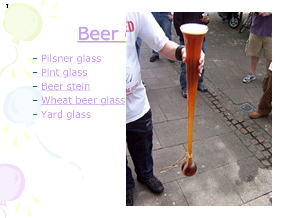 Beer glassware Pilsner glass Pint glass Beer stein Wheat beer glass