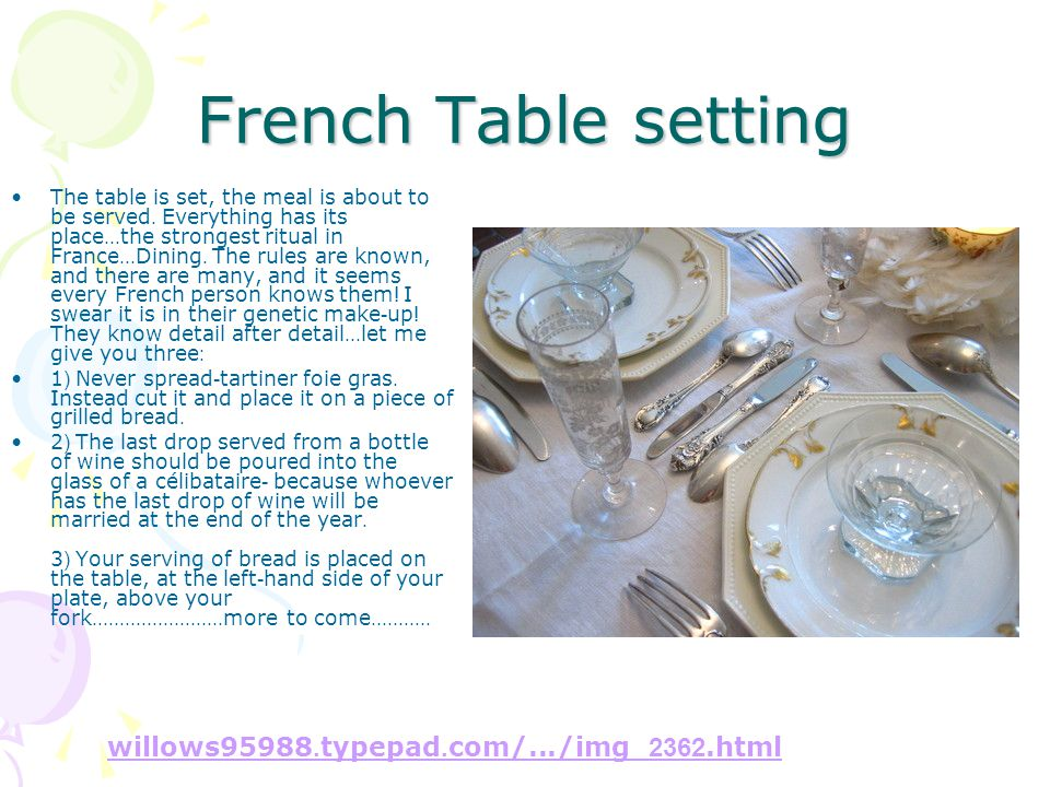 French Table setting willows95988.typepad.com/.../img_2362.html