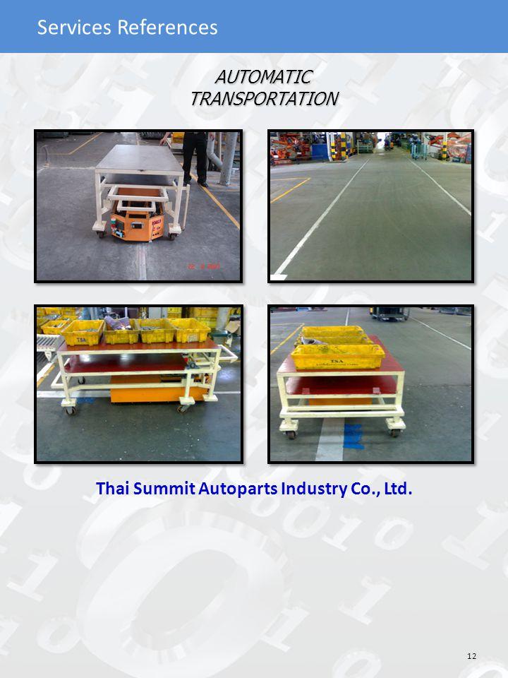 Thai Summit Autoparts Industry Co., Ltd.