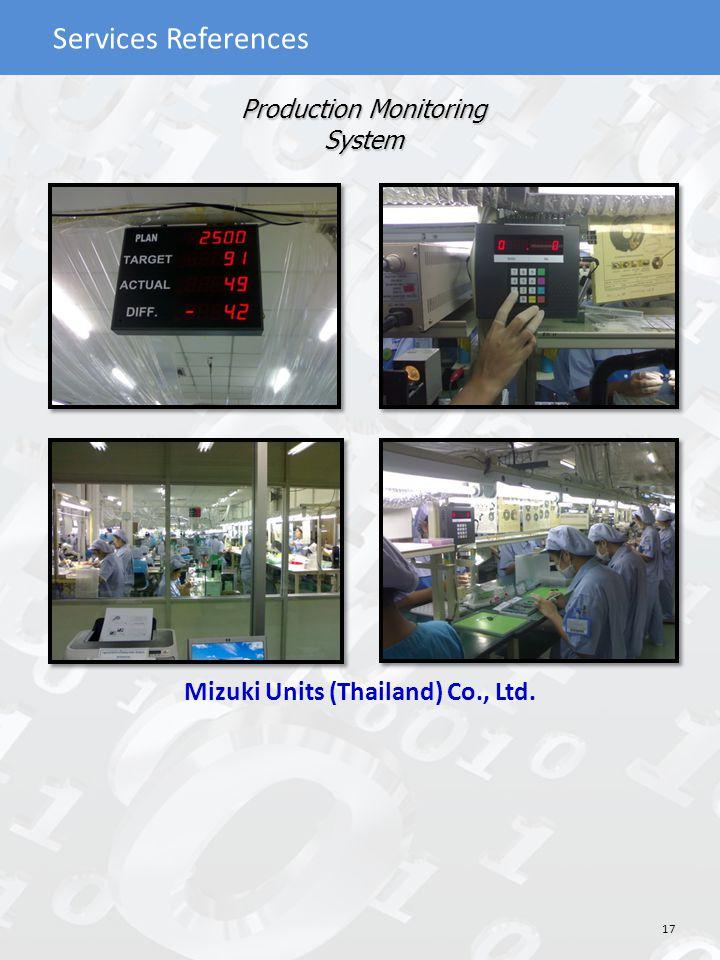 Mizuki Units (Thailand) Co., Ltd.