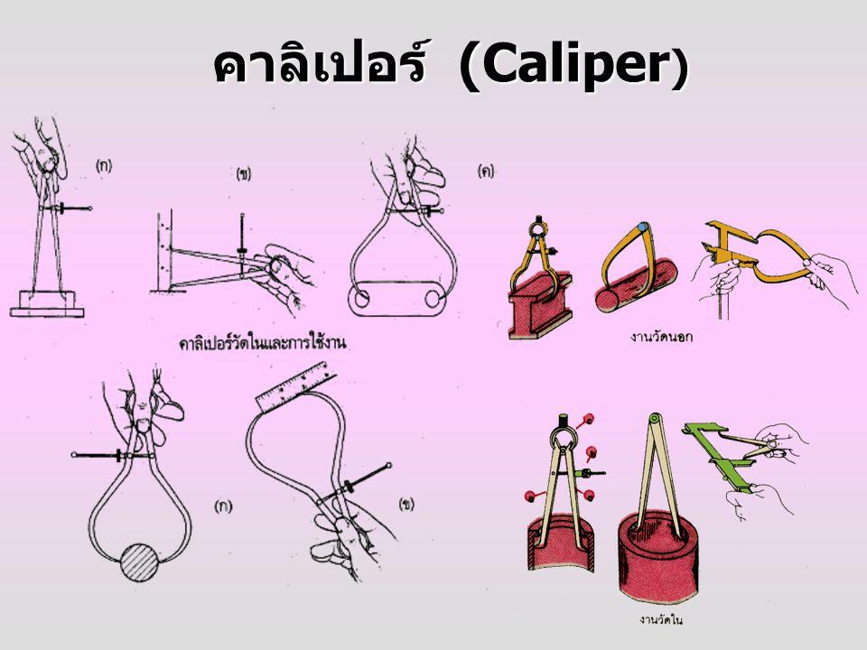 คาลิเปอร์ (Caliper)