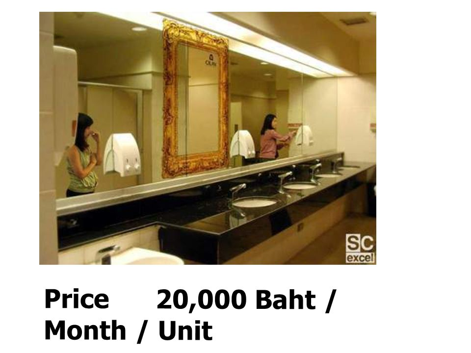 Price 20,000 Baht / Month / Unit