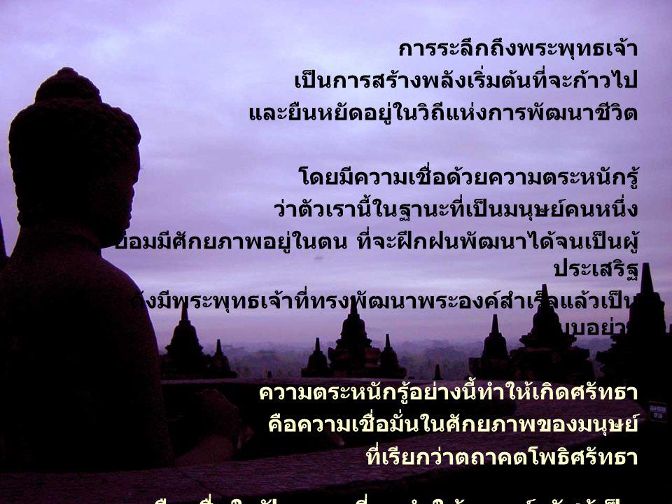 การระลึกถึงพระพุทธเจ้า