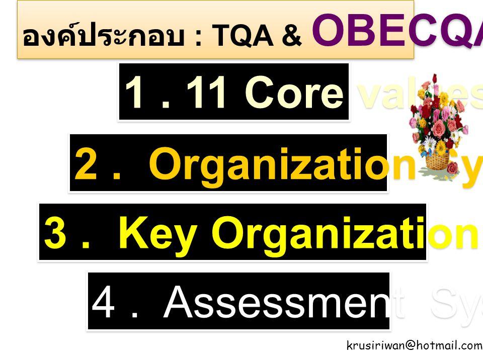 3 . Key Organization Factors