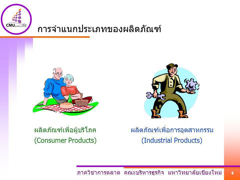 การจำแนกประเภทของผลิตภัณฑ์