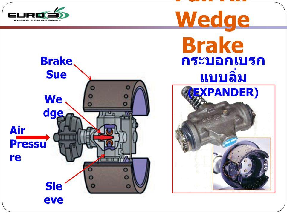 Full Air Wedge Brake กระบอกเบรกแบบลิ่ม Brake Sue (EXPANDER) Wedge