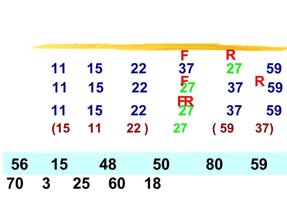 F R. 11 15 22 37 27 59. F. R. 11 15 22 27 37 59.