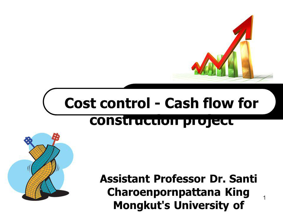 Cost control - Cash flow for construction project
