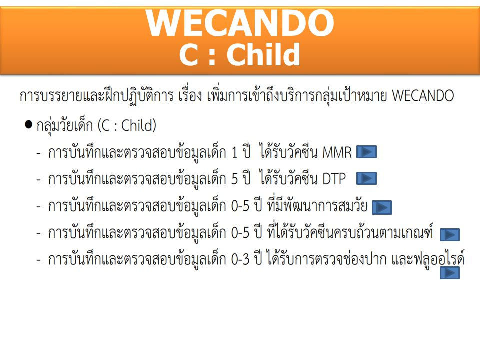 WECANDO C : Child