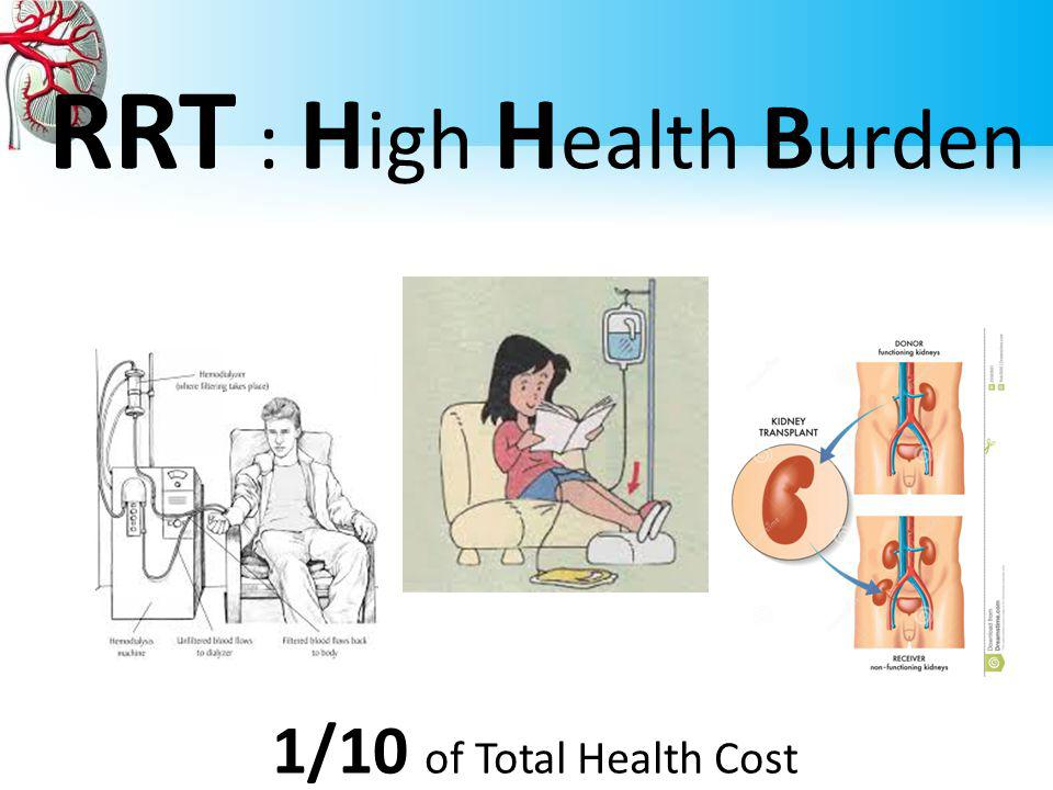 RRT : High Health Burden