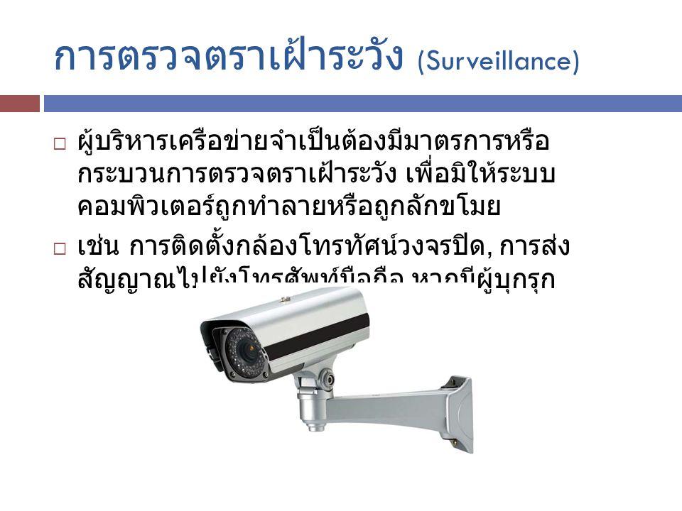 การตรวจตราเฝ้าระวัง (Surveillance)