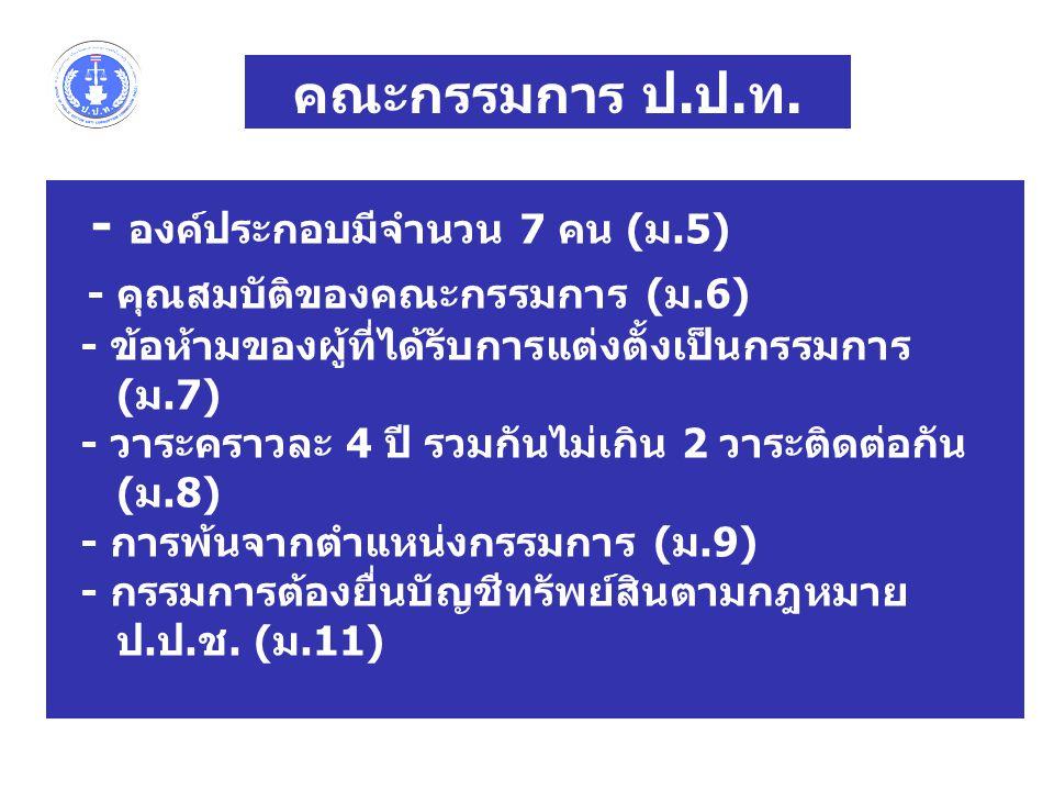 - องค์ประกอบมีจำนวน 7 คน (ม.5)