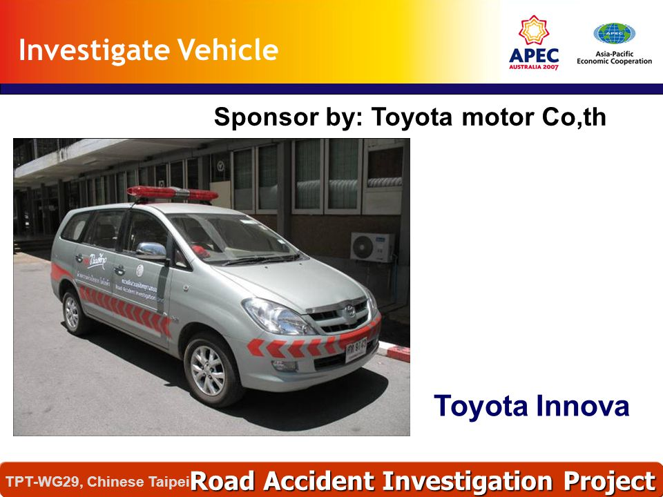 Sponsor by: Toyota motor Co,th
